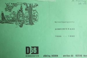 D66-verkiezingsprogramma 1986-1990