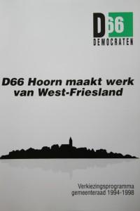 D66-verkiezingsprogramma 1994-1998