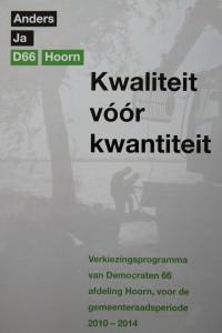 D66-verkiezingsprogramma 2010-2014