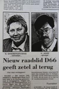 NHD Sandbergen Janse 1994
