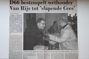 Krantenartikel NHD MAK 2001