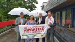 Ben Tap en Jan Nieuwenburg Hoorn openwater zwemstad