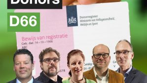 2011-05-12 10:59:53 Registratieformulier voor donorregistratie van het Ministerie van Volksgezondheid, Welzijn en Sport (VWS). Op dit moment hebben ruim vijfenhalf miljoen Nederlanders hun keuze geregistreerd in het donorregister. ANP XTRA FRANK VAN BEEK